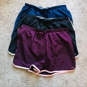 BUNDLE OF 3 running shorts